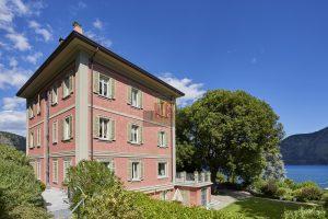 Exclusive villa on lake Como with view to Bellagio