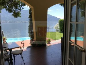 Lakeside villa for sale at lake Como