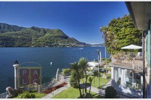 Vista unica del lago di Como