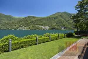 villa lidè in Laglio with lake view