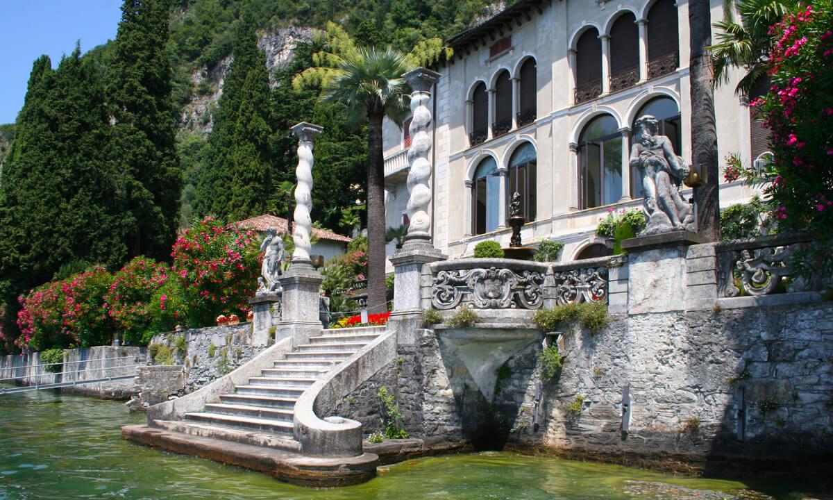 Villa De Vecchi Lake Como Italy