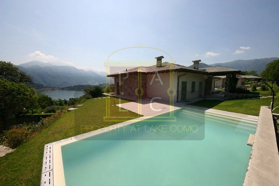 luxury villa lake como with view to Bellagio for sale