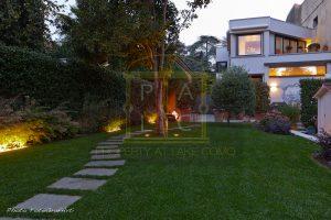 garden in cernobbio
