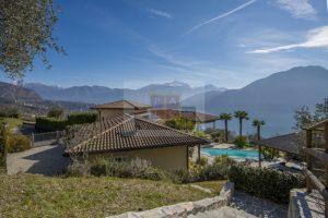 Exclusive and new villa for sale on Lake Como in Tremezzina