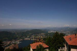 vista dalla villa sul lago