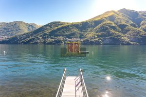 villa in Laglio for sale with access to the lake