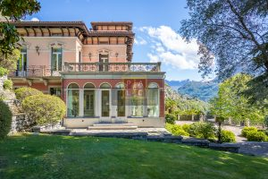 prestigious villa for sale in Cernobbio Lake Como