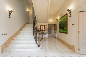 main hall in Prestigious villa in Cernobbio for sale