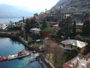 villa in vendita a laglio con accesso al lago diretto