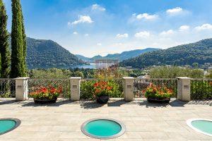 Exclusive Villa Cernobbio garden