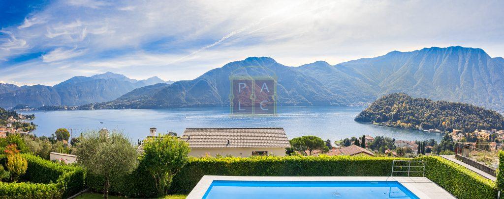 villa sul lago di como con piscina panoramica