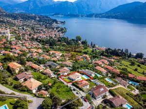 Beautiful villa on Lake Como with swimming pool and lake view to Bellagio